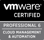 VMware Certified Professional 6 - Cloud Management & Automation
